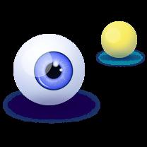 כדור ועין
