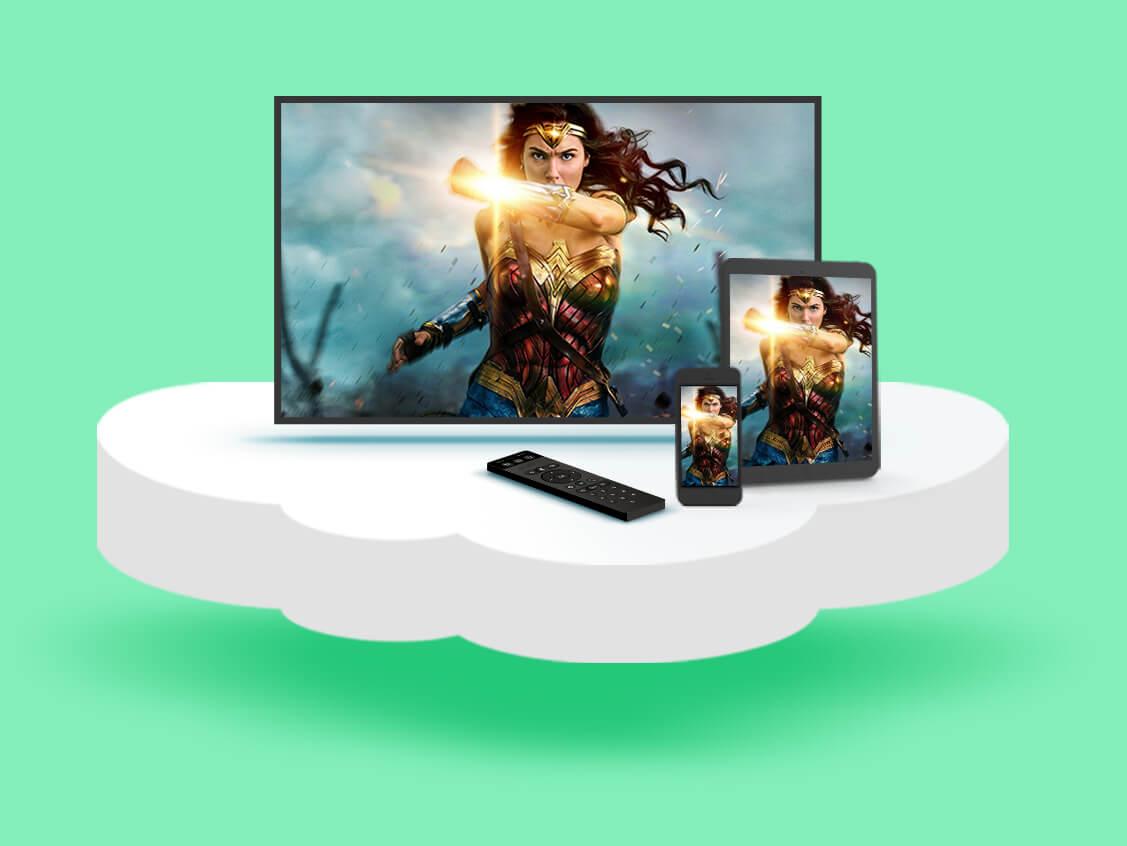 ב-STINGTV ההקלטות שלכם נשמרות בענן ואפשר לצפות בהן מכל מכשיר