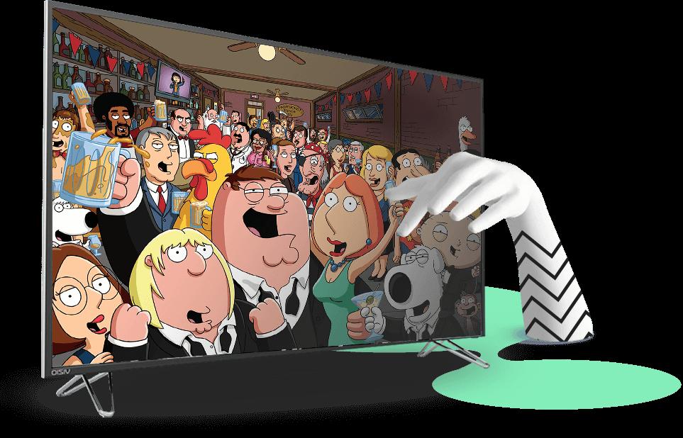איש משפחה (Family Guy) ב-STINGTV