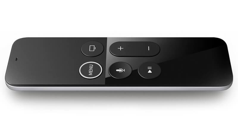 שלט הטאצ' החכם של Apple TV